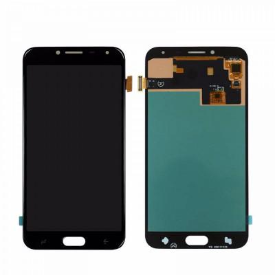 Display Samsung Galaxy J4 J400 2018 compatibil negru foto