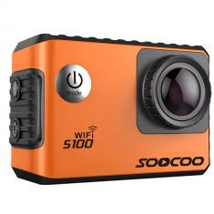 Camera Video Sport 4K iUni Dare S100 Orange, WiFi, GPS, mini HDMI, LCD 2 inch, by Soocoo
