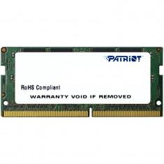Memorie notebook Patriot Signature 16GB, DDR4, 2400MHz, CL17, 1.2v
