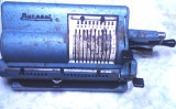 veche rara de colectie masina de calculat calcul Muresul calculator mecanic