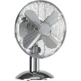 Ventilator de birou 35W, crom, diametru 30 cm, HQ