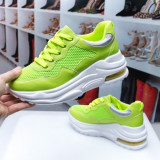 Pantofi sport dama verde neon Iagasia -rl