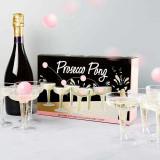 Joc de baut Prosecco Pong, 15 piese, transparent