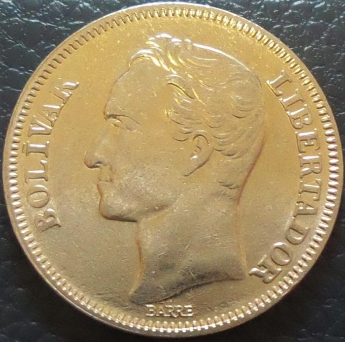 Moneda 2 (DOS) BOLIVARES - VENEZUELA, anul 1989 *cod 2340