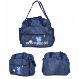 Geanta Bebe Multifunctionala pentru Mamici Grunberg GM3026 Albastra