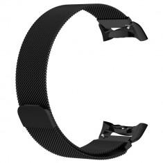 Curea otel inoxidabil Tech-Protect Milaneseband Samsung Gear Fit 2/Fit 2 Pro Black
