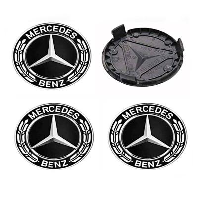 Set 4 capacele roti 75mm, pentru jante aliaj Mercedes foto