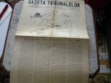 """Ziarul  """" Gazeta tribunelor"""" 1937"""