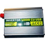 INVERTOR 12V - 220V 400W CU USB - Resigilat