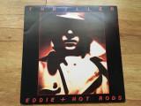 EDDIE + THE HOT RODS - THRILLER (1979,ISLAND,UK) + Poster ,  Punk Rock vinyl