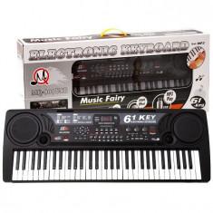 Orga electronica MQ-809 USB si MP3 cu 61 de clape