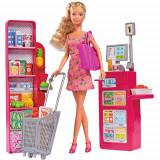 Cumpara ieftin Set Steffi Love Supermarket cu Papusa 29 cm si Accesorii, Simba
