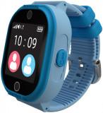 Smartwatch MyKi 4 Lite, Display IPS 1.3inch, Wi-Fi, Bluetooth, 3G, Camera, rezistent la apa, dedicat pentru copii (Albastru)