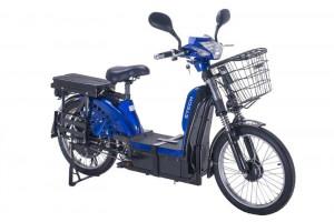 Bicicleta electrica, tip scuter nu necesita inmatriculare ZT-61 LASER ALBASTRU