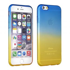 Husa APPLE iPhone 5\5S\SE - Gradient TSS, Albastru\Auriu