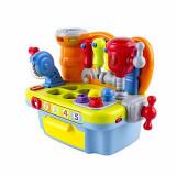Jucarie interactiva pentru bebelusi - Micul meu atelier cu unelte si sunete - Hola Toys