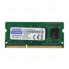 Memorie laptop Goodram 4GB (1x4GB) DDR3 1600MHz CL11 1.35V (512x8)