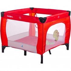 Tarc de joaca pentru copii Caretero Quadra Rosu