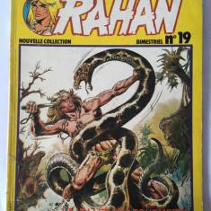 RAHAN, Nouvelle Collection. Bimestriel, no 19, lb. franceza, jan 1981, colectie