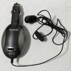 Bluetooth auto cu microfon pe fir