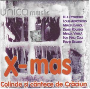 CD X-mas (Colinde Și Cântece De Crăciun), original, holograma