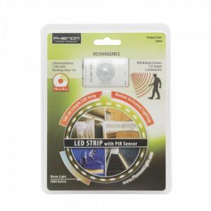 Banda LED cu senzor de miscare, cu acumulator, 100 cm Best CarHome