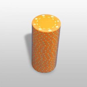 Jeton poker portocaliu 11,5g