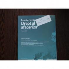 REVISTA ROMANA DE DREPT AL AFACERILOR NR 5