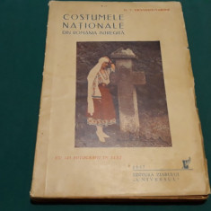 COSTUME NAȚIONALE DIN ROMÂNIA ÎNTREAGĂ/ G.T. NICULESCU-VARONE/ 1937