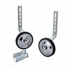 Roti ajutatoare reglabile, pentru bicicleta, 12-20, din aluminiu, argintiu, YTGT-50151