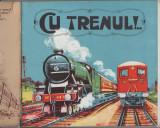 Cu trenul - carte ilustrata