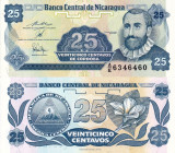 NICARAGUA 25 centavos 1991 UNC!!!