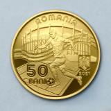 ROMANIA - 50 Bani 2021 - Campionatul European de Fotbal 2020 - PROOF