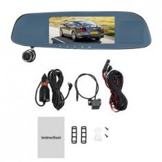 Camera Auto DVR, Oglinda Retrovizoare, TRIPLA Fata+Habitaclu+Spate