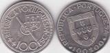 Portugalia 100 escudos 1981 - 87 comemorative