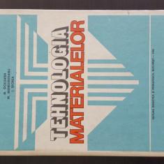 Tehnologia Materialelor - M. Golumba