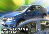 Paravant Dacia Logan II, an fabr. dupa 2013-- Set fata si spate - 4 buc., Heko
