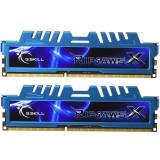 Memorie G.Skill Ripjaws X Blue 8GB DDR3 2133MHZ CL9 1.65v Dual Channel Kit, DDR 3, 8 GB