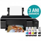 Imprimanta Foto Epson L805, InkJet, Color, Format A4, Wi-Fi, CISS