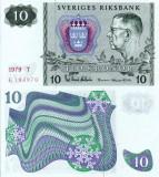 SUEDIA 10 kronor 1979 UNC!!!