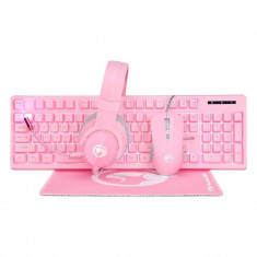 Kit Marvo CM418 Advanced Gaming Tastatura + Casti + Mouse + Mousepad