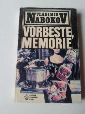 Vladimir Nabokov - Vorbește, Memorie foto