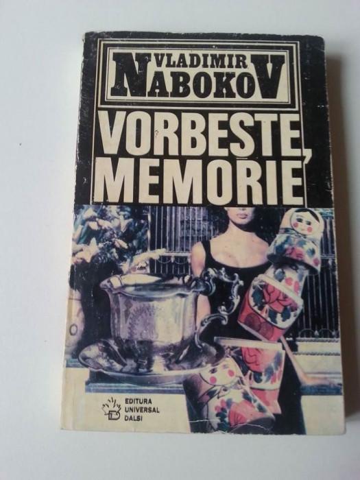 Vladimir Nabokov - Vorbește, Memorie