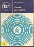 Sisteme Informatice - Iosif Sandulescu, Rao, 2008