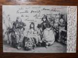 CONSTANTA - TIPURI ORIENTALE - 1906 - PORT POPULAR TURCESC - NARGHILEA - SALVARI, Circulata, Fotografie