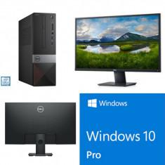 """Desktop PC DeLL Vostro 3471 i3-9100 8GB, Windows 10 Pro, Monitor DL LED 27"""""""