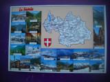 HOPCT 73348  Savoia / LA SAVOIE   -FRANTA  -HARTA TURISTICA -NECIRCULATA