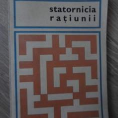 STATORNICIA RATIUNII - VASCO PRATOLINI