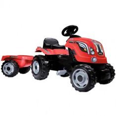 Tractor cu Pedale si Remorca Farmer XL Rosu