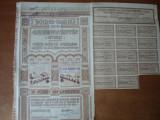 Cumpara ieftin ACTIUNE -  SOC. COMUNALA LOCUINTE IEFTINE BUCURETI 1939- 10 ACTIUNI - 2000 LEI